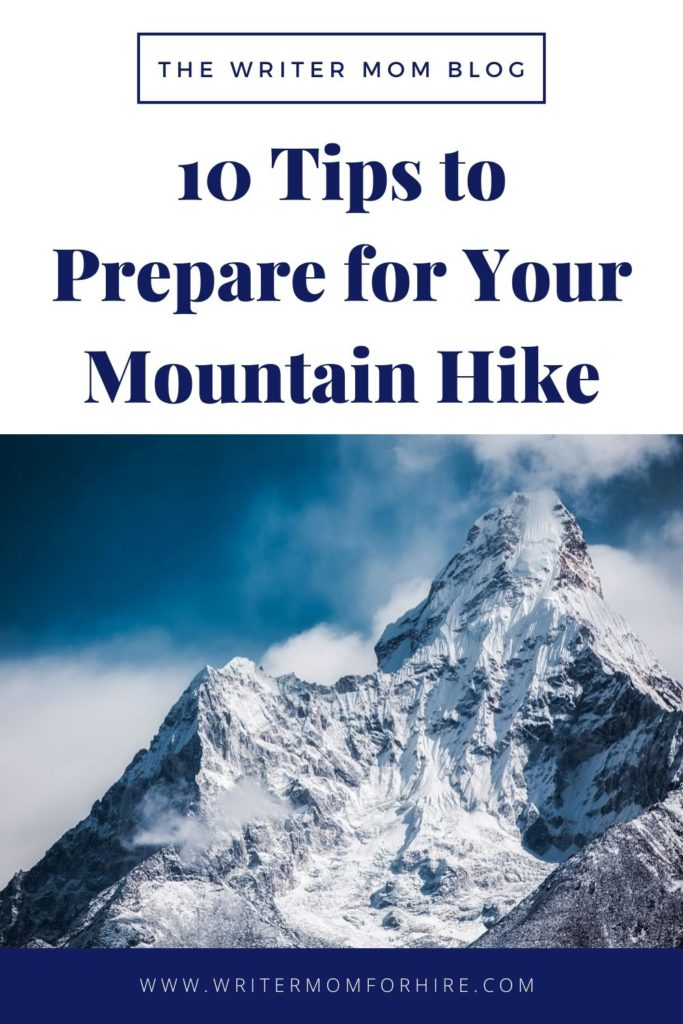 pinterest graphic tips to prepare for your mountain hike   hiking mount rainier with kids