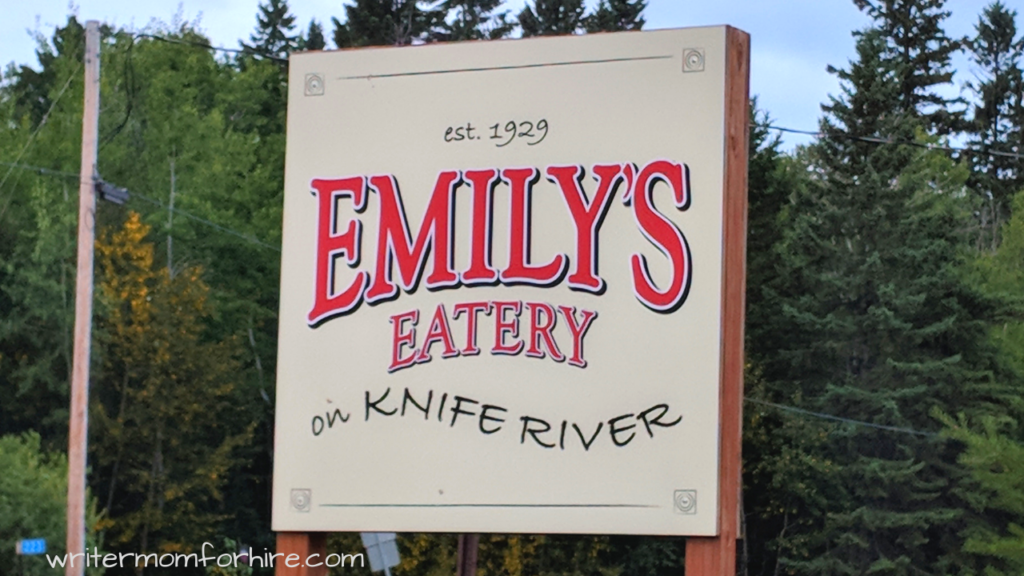 emily's eatery sign