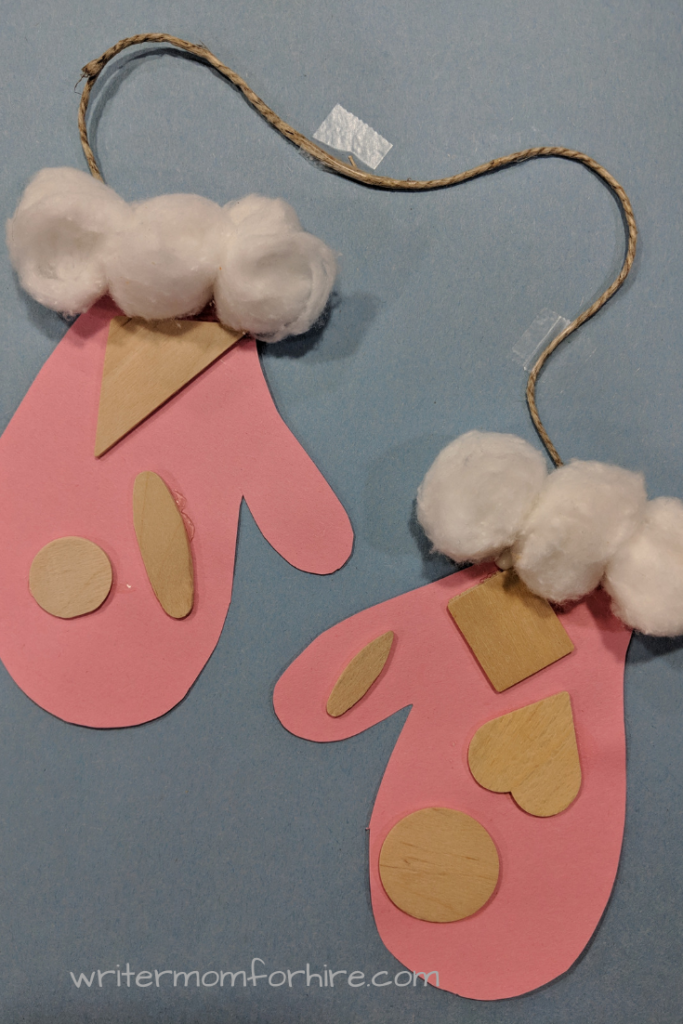 easy mittens craft for toddlers