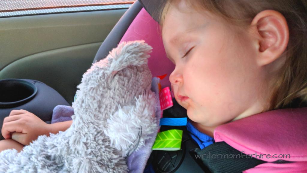 photo of sleeping toddler | toddler sleeping aids