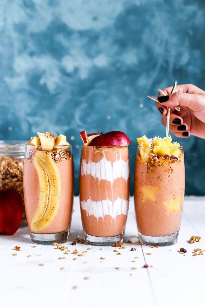 photo of smoothies