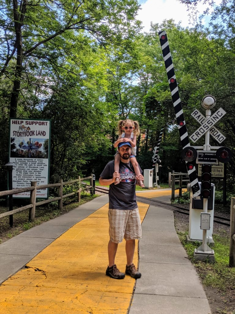 photo of the yellow brick road | our trip to storybook land in aberdeen sd
