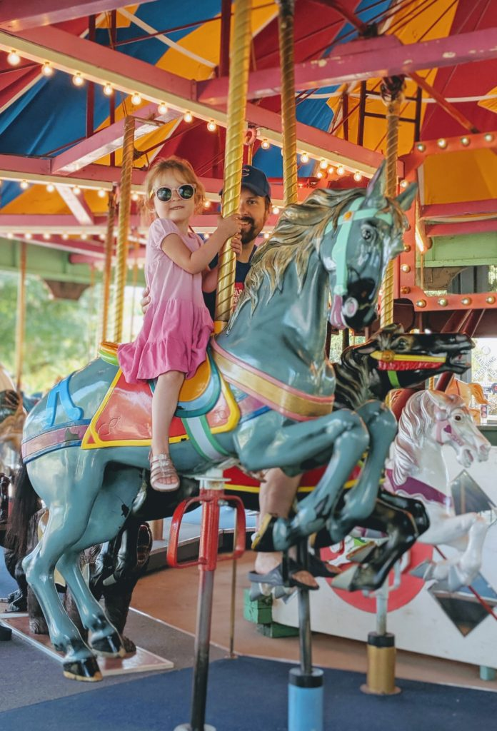 photo of the carousel | storybook land aberdeen sd