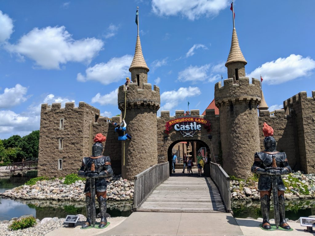 photo of the castle | our trip to storybook land in aberdeen sd