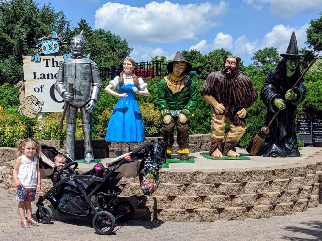 photo of the wizard of oz characters | storybook land aberdeen sd