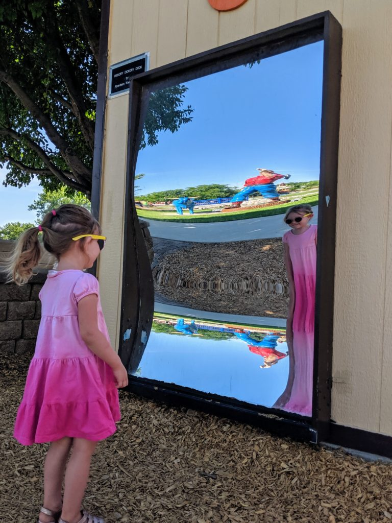 photo of a mirror | storybook land aberdeen sd