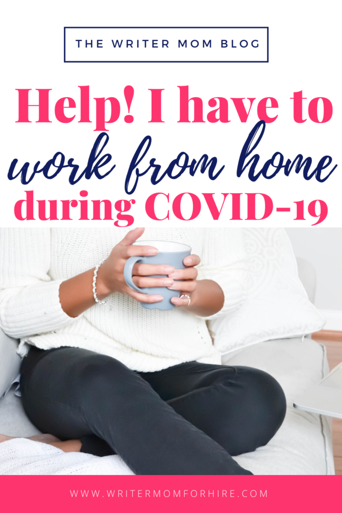 pinterest graphic for help! i have to work at home during covid-19