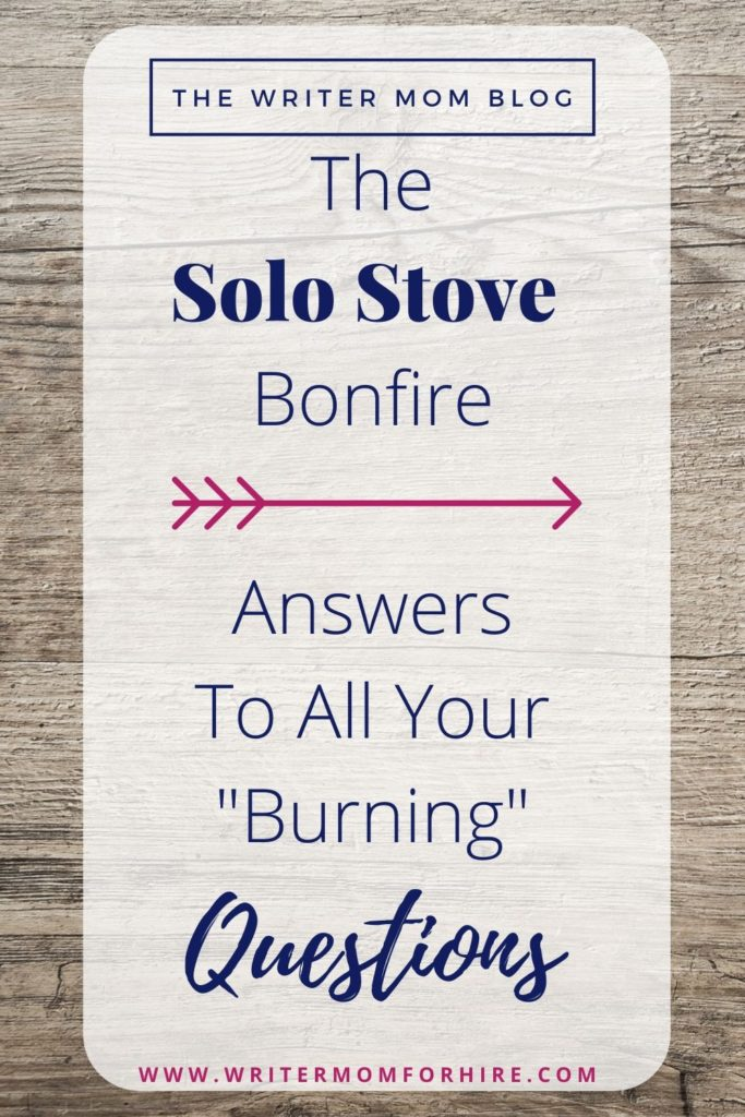 pin this graphic to share with others the answers to the question: is the solo stove bonfire worth it?