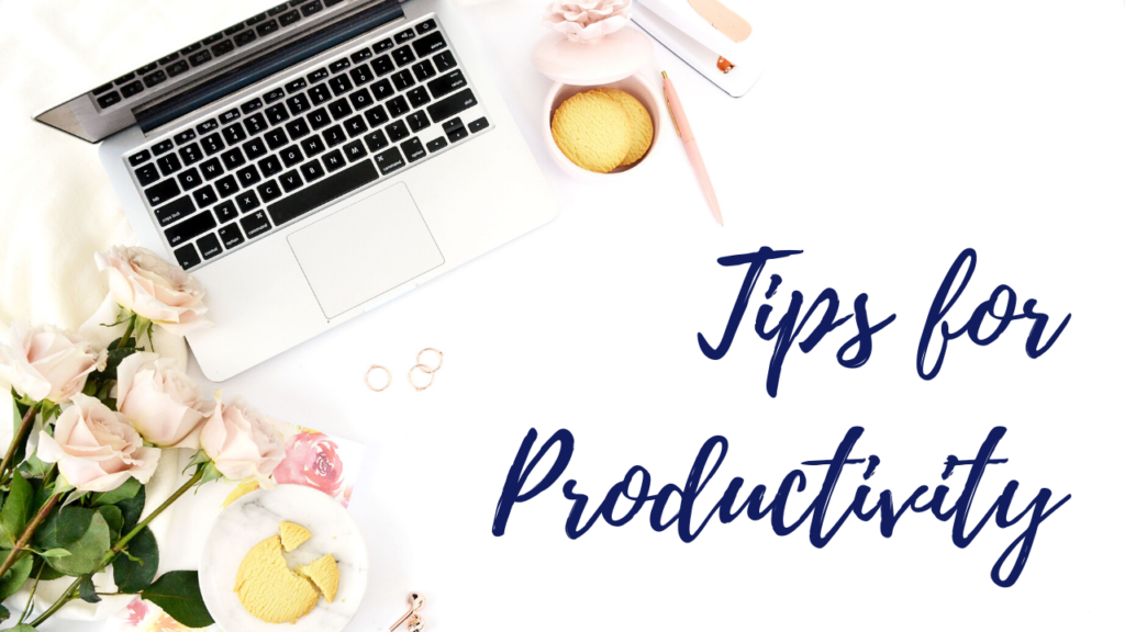 image for section tips for productivity when working from home