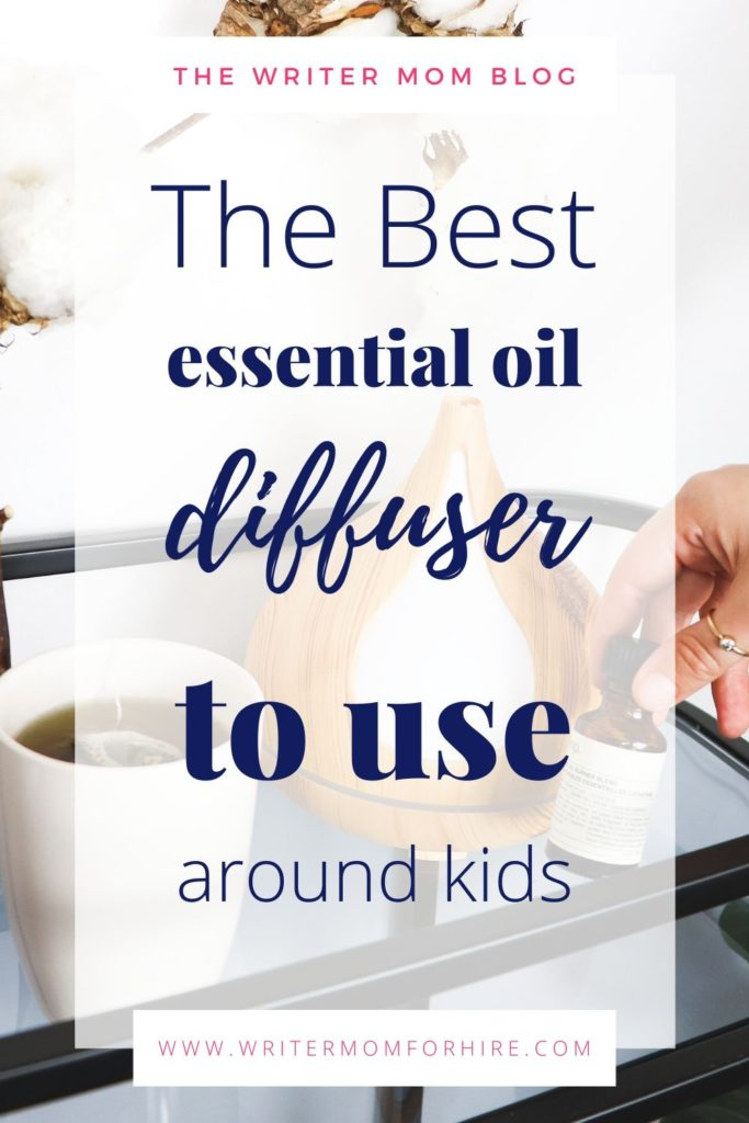 pinterest graphic | the best essential oil diffuser for kids